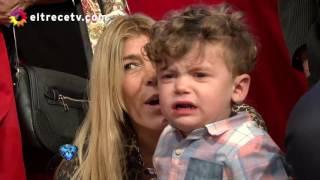Marcelo hizo llorar a Milo, por suerte después hicieron las paces
