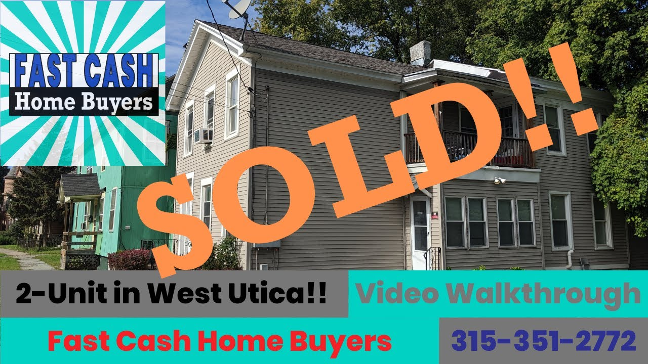 Multi-Family Investment Property in Utica, NY | Fast Cash Home Buyers