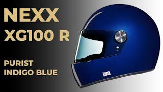 Retrouvez le sur Classic Ride : https://www.classicride.fr/casque-nexx-xg100-racer-purist-indigo-blue.html Tous les modèles de XG100 ...