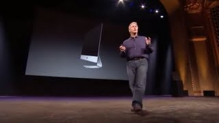 Apple Special Event 2012 - iMac 2012 Introduction