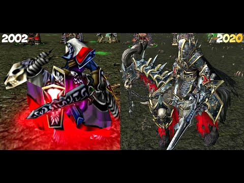 Warcraft III Reforged: Undead Units Comparison (2002 VS 2020)