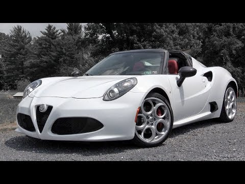 2019 Alfa Romeo 4C Spider: Review