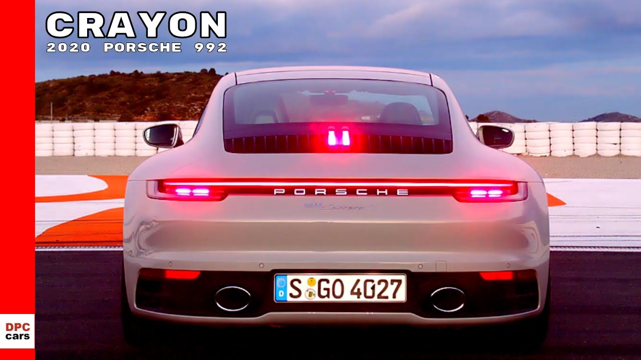 2020 Porsche 911 992 Carrera S In Crayon Youtube