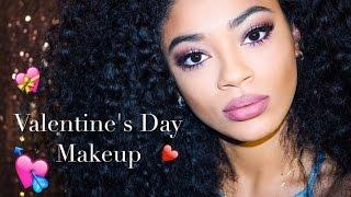 Valentines Day Makeup Look | jasmeannnn