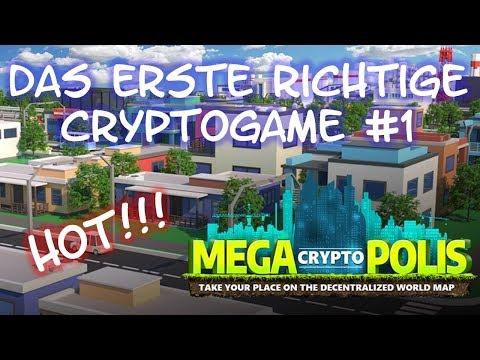 MegaCryptoPolis #1 - Crypto Game - Bau deine eigene Crypto-Stadt und verdiene ETH