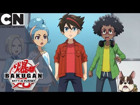 Bakugan: Battle Planet | Meeting Benton Dusk | Cartoon Network UK
