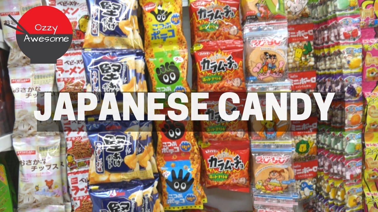 Japanese Candy Shopping Sendo Supermarket