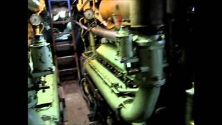 Техника в музеях Германии:  подводная лодка U9 в музее в городе Шпаере