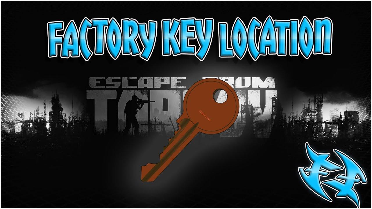 Escape From Tarkov -How to get FACTORY KEY - Побег из Таркова - Как  получить ФАБРИЧНЫЙ КЛЮЧ EFT