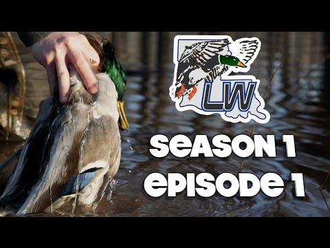 Duck Hunting Catahoula Lake.   Louisiana Wetlands S1E1