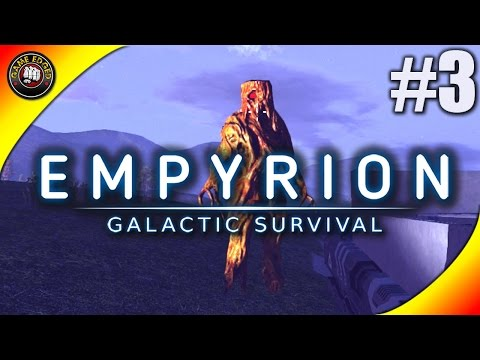 Empyrion Galactic Survival Let's Play - Ep. 3 - Alien and Drones Attack! - Gameplay Alpha 1.1 (S9)