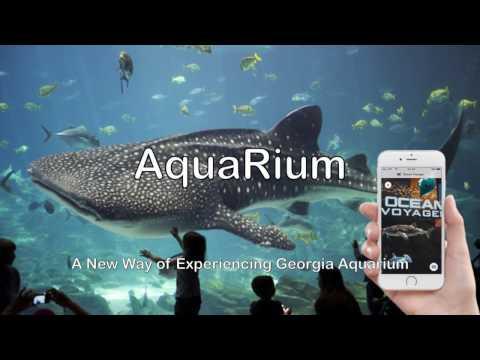 AquaRium- An Augmented Reality Tour App designed for Georgia Aquarium