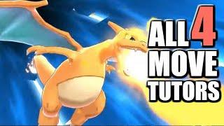 Where to find ALL 4 Move Tutors in Pokemon Sword and Shield