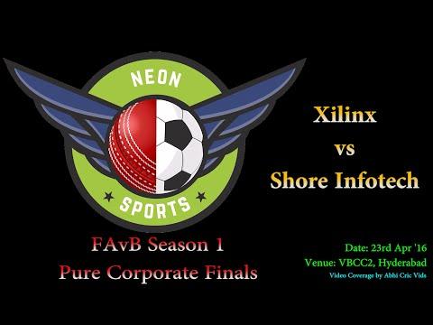 FAvB Season 1 Pure Corporate Finals | Xilinx vs Shore Infotech