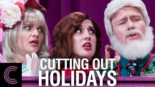 Cutting Out Holidays. Join our special guests, the Gardiner sisters, as they team up with our cast! With all the chaos of the holiday season, sometimes it's ...