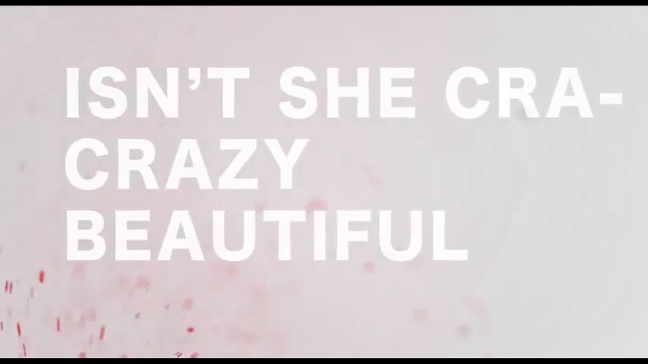 Andy Grammer Crazy Beautiful Official Lyric Video Youtube