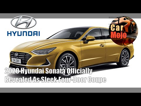 2020 Hyundai Sonata Officially Revealed As Sleek Four-Door Coupe | CarMojo