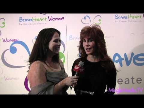 Suzanne DeLaurentis at 2011 BraveHeart Women Awards Red Carpet Report