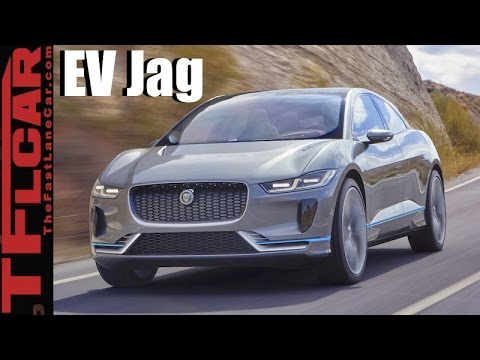 2018 Jaguar I-Pace Concept: Jag's First All Electric Car Is an EV Stunner