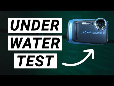 Fujifilm FinePix XP120 - Underwater 1080p Test Video!