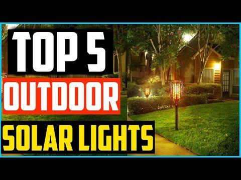 Top 5  Best Outdoor Solar Lights of 2019