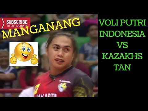 FULL MATCH Voli PUTRI Indonesia Vs Kazakhstan  Asian Club Volleyball Championship 2016