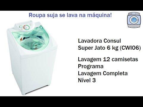 Lavadora Consul Super Jato 6 kg (CWI06) - Camisetas