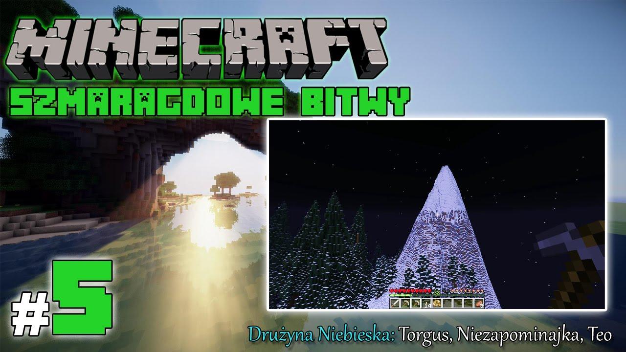 """Minecraft: Szmaragdowe Bitwy [Drużyna Niebieska] odc. 5 – """"Zimno i mokro"""""""