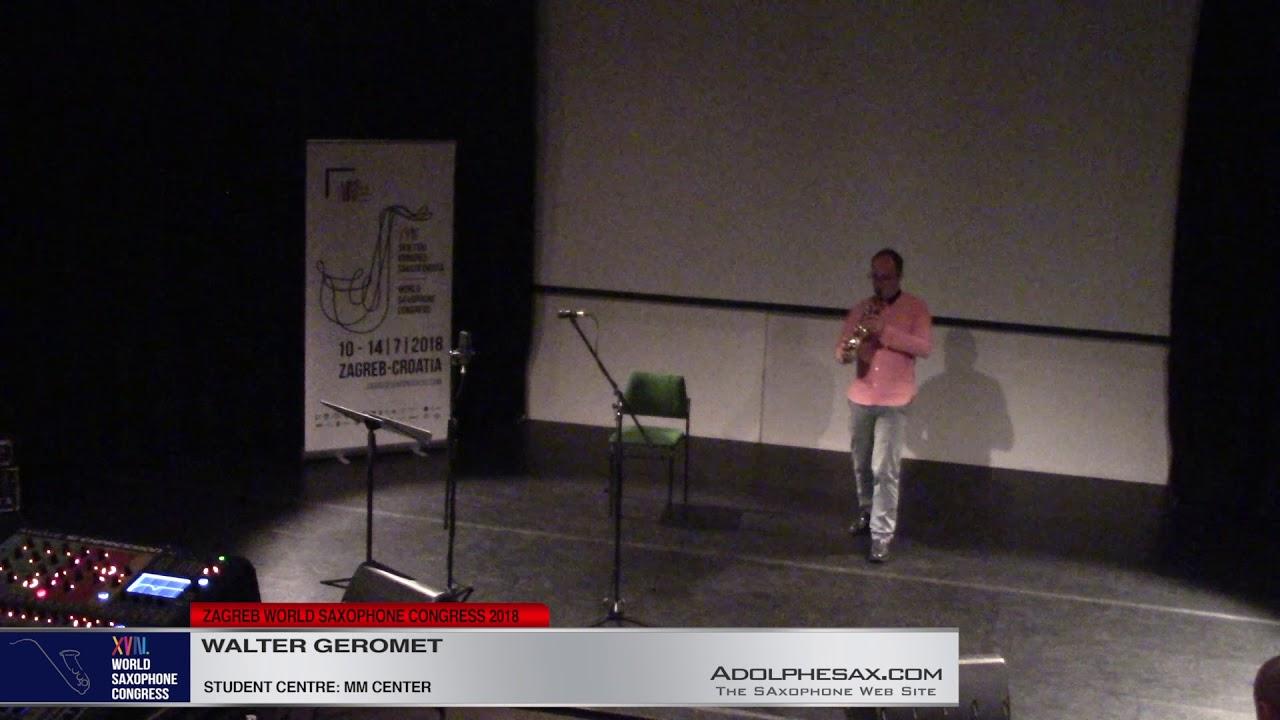 Opacity by Walter Geromet   Walter Geromet   XVIII World Sax Congress 2018 #adolphesax