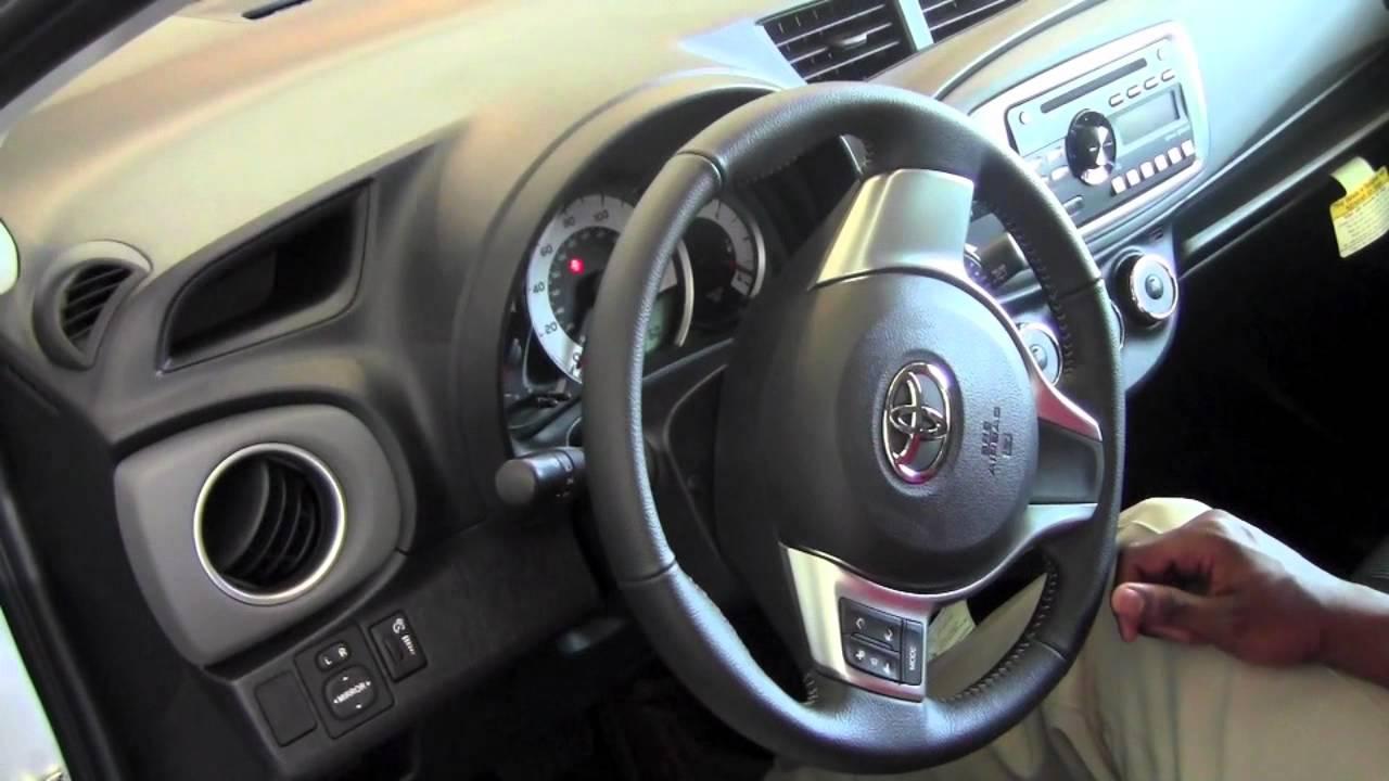 2012 Toyota Yaris Steering Wheel Lock How To By