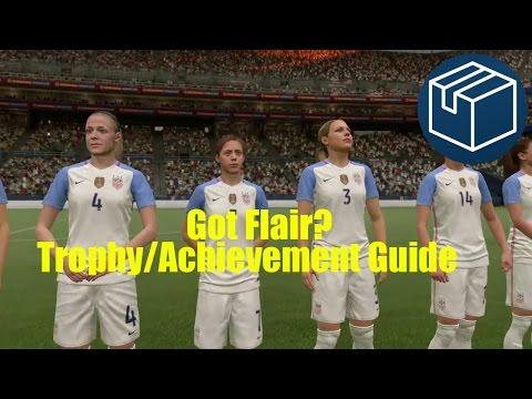 FIFA 17 Got Flair? Trophy/Achievement Guide