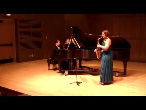 Sonata for Alto Saxophone and Piano - Bernard Heiden
