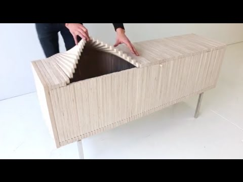 An artist has done something incredible with the most mundane piece of furniture