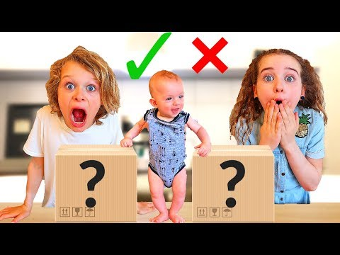 BABY CONTROLS OUR DAY *ends in tears* 24 Hour Baby controls our life by choosing mystery boxes