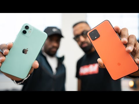 Pixel 4 vs iPhone 11 - Which should you buy? (Feat. UrAvgConsumer)