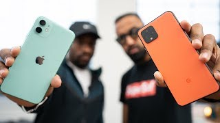 Download Pixel 4 vs iPhone 11 - Which should you buy? (Feat. UrAvgConsumer) Mp3 and Videos