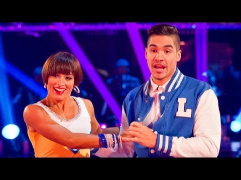 Louis Smith Jives to 'Why Do Fools Fall in Love?' - Strictly Come Dancing 2012 - Semi Final - BBC