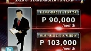 24Oras: Mga senador, may iba't ibang allowance bukod pa sa buwanang sahod