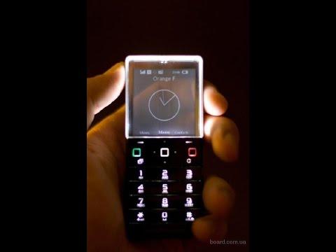 Телефон с прозрачным дисплеем Sony Ericsson Xperia Pureness X5