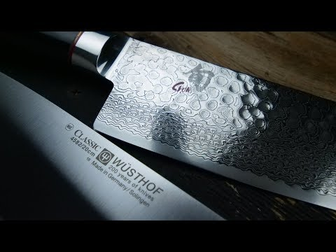 Japanese vs German Knives - Shun vs Wusthof Cutlery