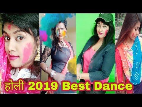 Holi New Song Sexy Dance #tiktok #vigo Virail Video #Vigo Video Family
