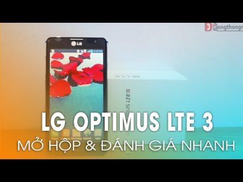 Phần 1: Đập Hộp LG Optimus LTE 3