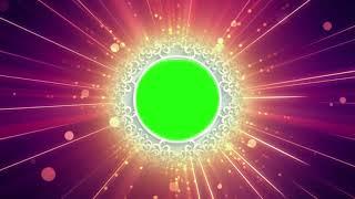 Hermosa Luz de Croma Forma de Círculo Widding Animación BG || DMX HD BG 247