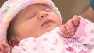Американка узнала о своей беременности за час до родов