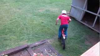 Moto Trials Railroad Tie Steps Practice