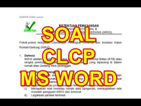 cara-mengerjakan-latihan-clcp-ms-word-soal-1-indentasi