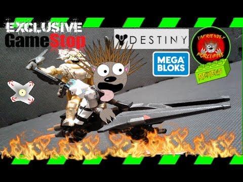 *Gamestop Exclusive* MEGA CONSTRUX DESTINY  [ S-34 Sparrow ] Honest Review