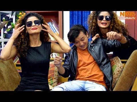 कार्यक्रममै सलोनलाई हरिसाले गरीन यस्तो हर्कत 😂😜😝Salon Basnet, Sara Sherpaili || Comedy Hostel