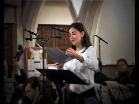 Teodora Gheorghiu, soprano - making of CD Anna de Amicis (english subtitles)