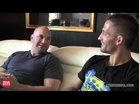 In depth interview with UFC president Dana White